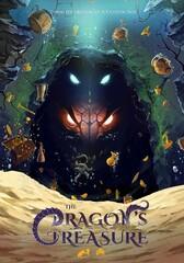 "A poster director Ashkan Rahgozar's new animation project ""The Dragon's Treasure""."