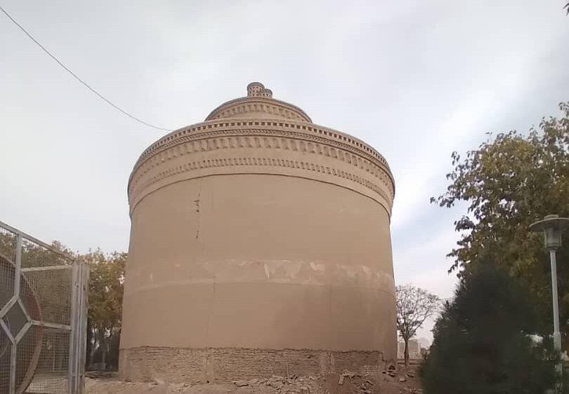 Ancient pigeon tower awaiting restoration