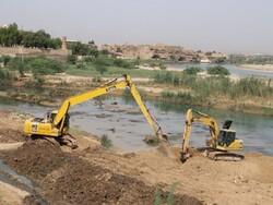 Shushtar Historical Hydraulic System dredging work starts