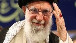 Leader of the Islamic Revolution Ayatollah Seyyed Ali Khamenei.