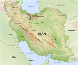 The plateau of Iran