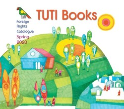 A poster for the Tuti Books foreign rights catalogue for spring 2020.