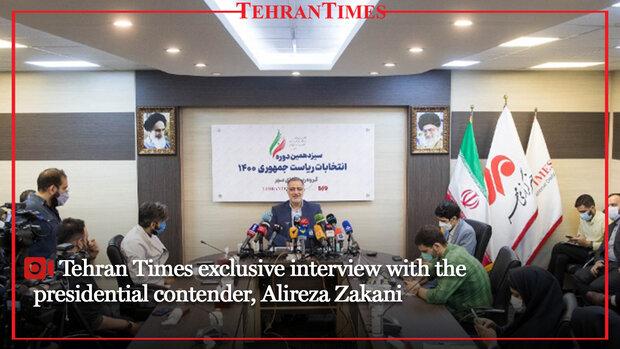 Tehran Times exclusive interview with the presidential contender, Alireza Zakani