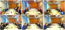Zarif's meeting with dignitaries