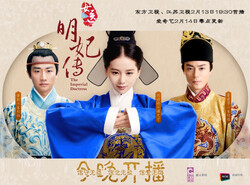 """A poster for the Chinese TV series """"The Imperial Doctress""""."""
