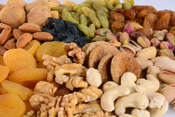 Exports of dried fruits, nuts up 36% in 2 months yr/yr