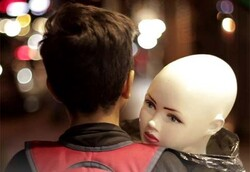 """""""Mannequin"""" by Iranian director Mahnaz Valipur."""