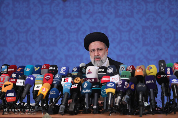 President-elect Raisi's first press conference