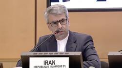 Iran's ambassador to UN rights body