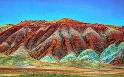 Colorful mountains of Aladaghlar