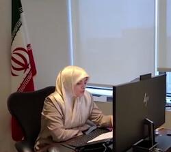 Iranian diplomat Zahra Ershadi