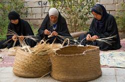 Iranian handicrafts: Hasirbafi in Bushehr