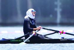 Iranian rower Malaei steals the show