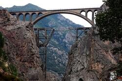 Veresk Bridge, Trans-Iranian Railway, Savadkuh county, Mazandaran province