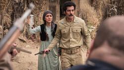 "Hoda Zeinolabendin and Navid Purfaraj act in a scene from ""Zalava""."