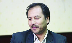 Afghan writer Mohammad-Sarvar Rajai in an undated photo.