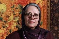 Iranian painter Mehrzaman Fakhar-Monfared in an undated photo.
