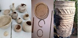 Prehistorical objects donated to cultural heritage directorate