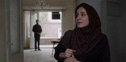 """Maryam Moqaddam acts in a scene from """"Ballad of a White Cow""""."""