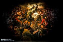 Artist Ruholamin offers free copies of Ashura paintings for Muharram rituals
