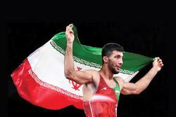 Wrestler Geraei wins gold medal