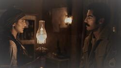 "Hoda Zeinolabedin and Navid Purfaraj act in a scene from ""Zalava""."