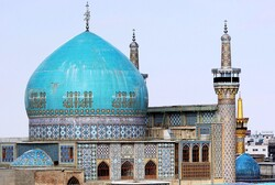 Goharshad Mosque highly distinctive in terms of history, beauty, and architecture