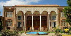 A view of the Constitution House in Tabriz