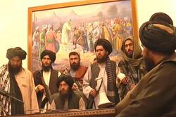 Taliban enter presidential palace