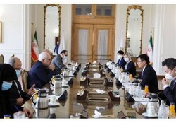 Zarif meets China's special envoy