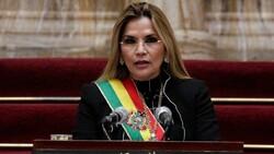 president Jeanine Anez