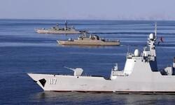 Iran-China-Russia naval drill