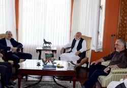 Karzai-Abdullah Abdullah Iran
