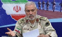 Deputy Commander of Iranian Police Border Guard Jalal Setareh