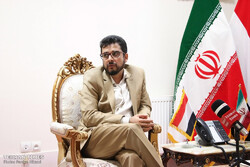 Yemen's diplomat sits for interview with Tehran Times
