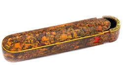 Iranian handicrafts: papier-mache and lacquer work