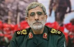 Quds Force Commander Esmaeil Qaani