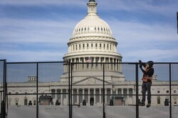 U.S. Capitol fence to return ahead of protests