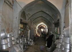 historical bazaar of Shahreza