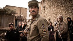 "Navid Purfaraj acts in a scene from ""Zalava""."