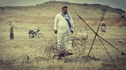 "A scene from Iran's first Arabic language film ""Sami"" by Habib Bavi Sajed."