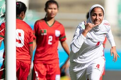 Iran beat Bangladesh at AFC Women's Asian Cup 2022 Qualifiers