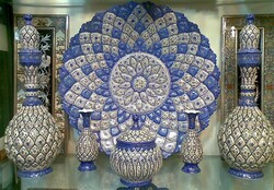 Exquisite works of enamel on show at Tehran exhibit
