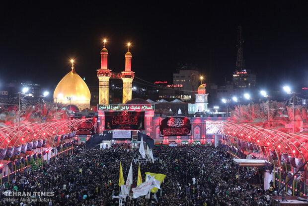Shia pilgrims flock to Karbala to commemorate Arbaeen