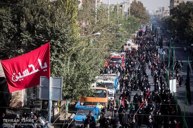 'Pilgrims who lost Arbaeen' march in Tehran