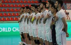 Iran U21 volleyball