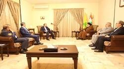 Hezbollah chief meets Iran FM in Beirut