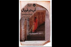 """Front cover of the new Persian edition of Kamala Markandaya's novel """"Nectar in a Sieve""""."""