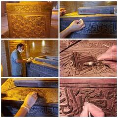 Centuries-old wooden box restored to original state