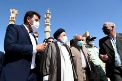 Persepolis, a manifestation of great Iranian art, president says